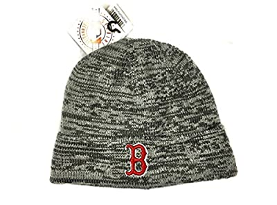 MLB Boston Red Sox Knit Beanie Hat Cap by Twins Enterprise