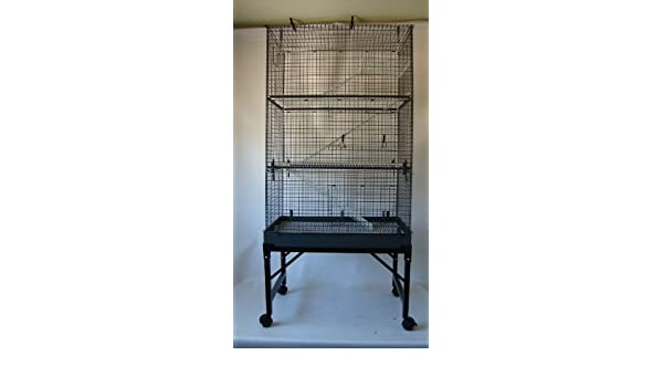 3 Tier Ferret/rata/Chinchilla/Degu Cage: Amazon.es: Productos para ...