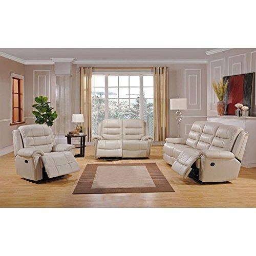 Tarpon Seat (Coja Tarpon Leather Sofa, Loveseat and Chair Recliner Set)