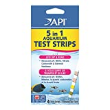 API 5 in 1 Test Strips Water Conditioner for Aquariums, 4 Count