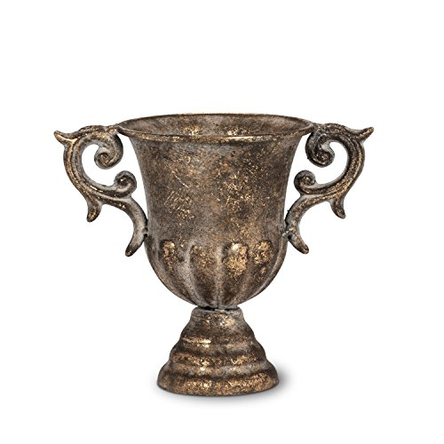(Abbott Collection 27-SAINT/0128 Small Urn with Handles)