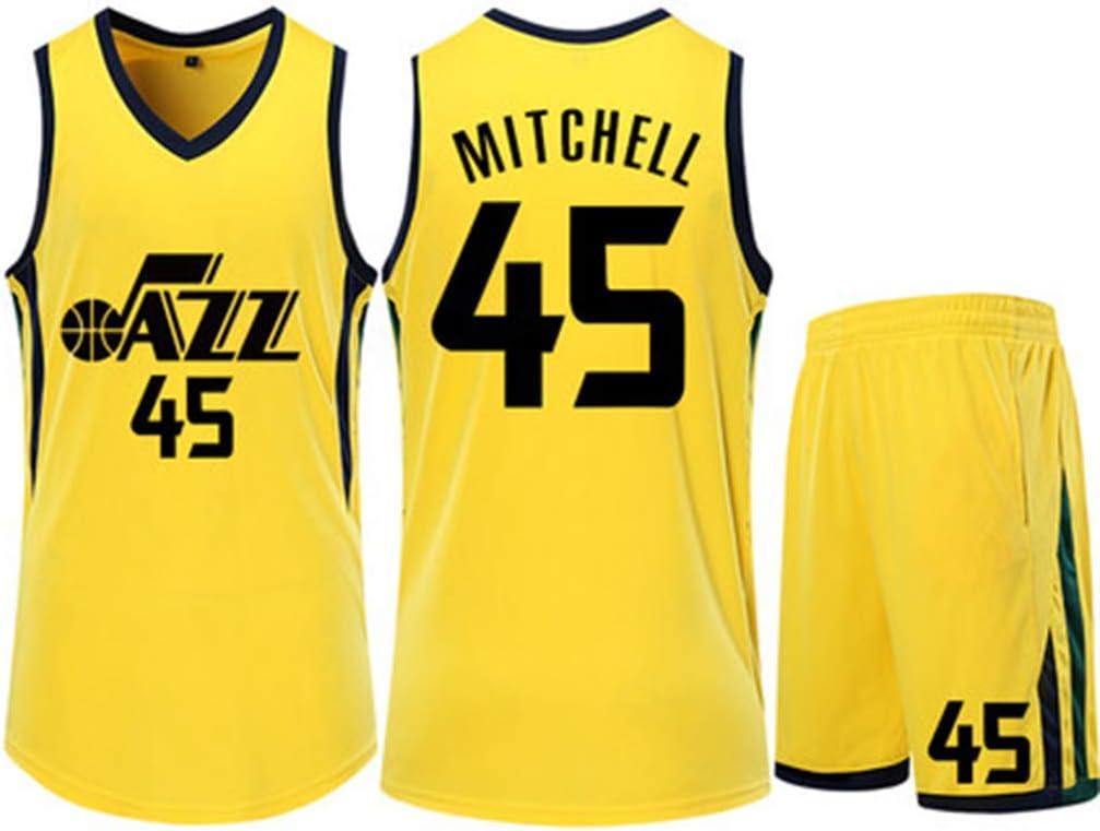 HS-ZGC - Camiseta de Baloncesto para Hombre de la NBA Utah Jazz ...