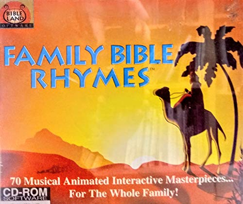 Family Bible Rhymes:70 Musical Animated Masterpieces