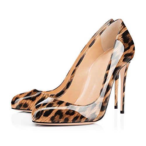Nilkkalenkki Peep Pohja Tikari Slingback Leopardi Onlymaker Toe Pumput Risti Punainen TYvxq6w1
