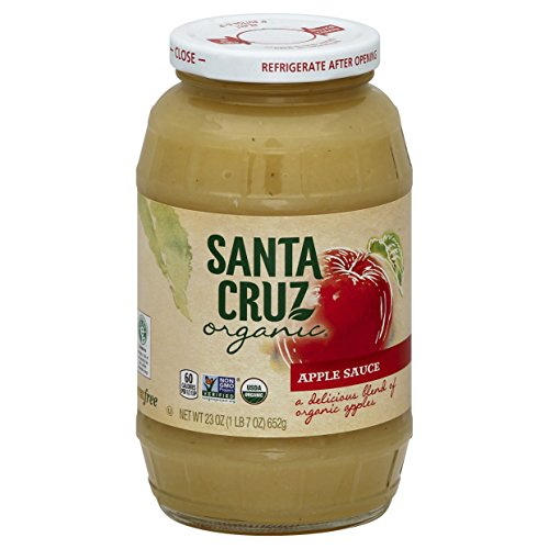 Santa Cruz Organic Apple Sauce, 23 (Santa Cruz Organics Apple)
