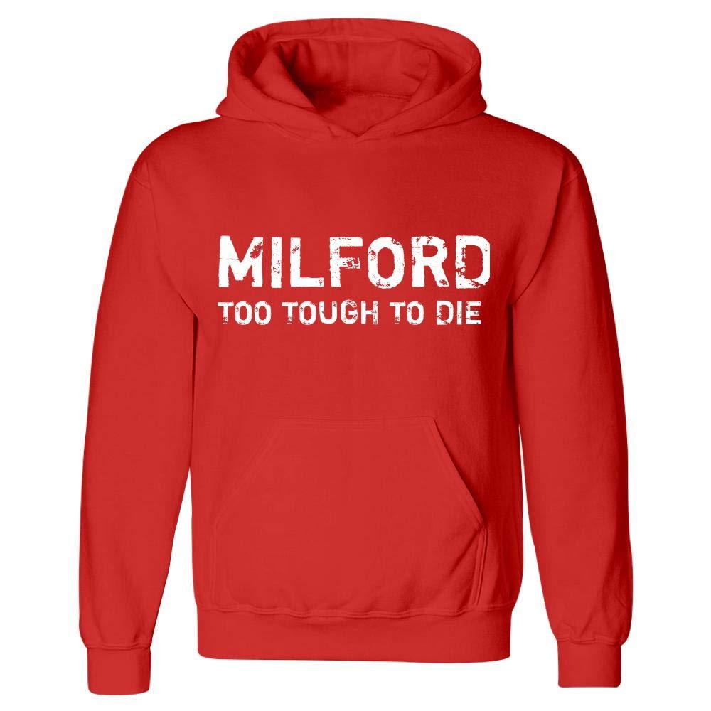 MESS Milford Too Tough to Die Hoodie Red
