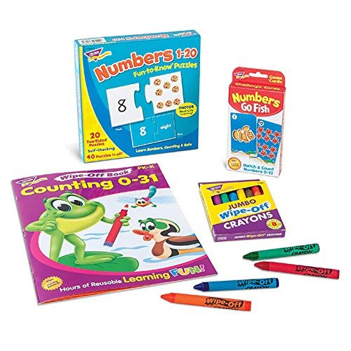 TREND enterprises Inc. T-90882D Counting & Numbers Learning Fun Pack [並行輸入品]   B07K9MY7JT