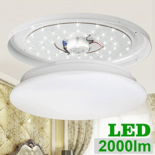 Led Ceiling Lights Daylight : Le w inch daylight white led ceiling lights