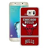 Samsung S6 Edge+ Case,S6 Edge+ Case,Chicago Bull 10 Slim Case for Samsung Galaxy S6 Edge Plus White