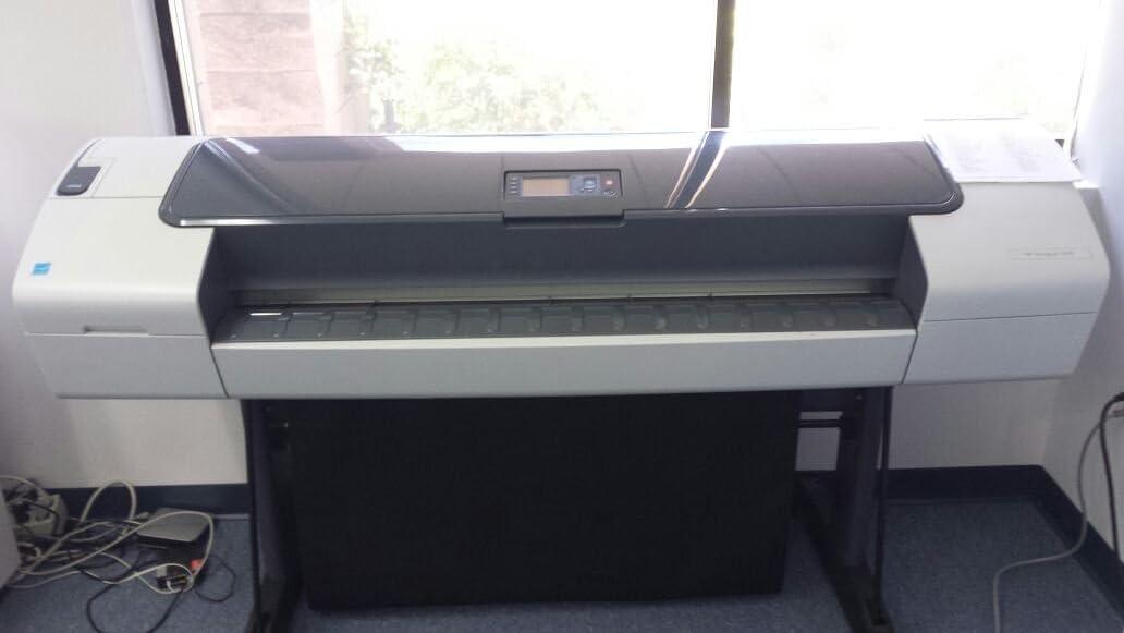 HP Designjet Impresora HP DesignJet T610 111,7 cm - Impresora de gran formato (HP-GL2/RTL, CALS/G4, HP PCL 3 GUI, HP Web Jetadmin, HP Easy Print Care/Printer Utility, Cian, gray, magenta, Negro mate,