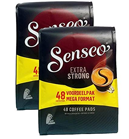 Senseo Extra Strong Coffee Pods 96 count Pods: Amazon.com ...