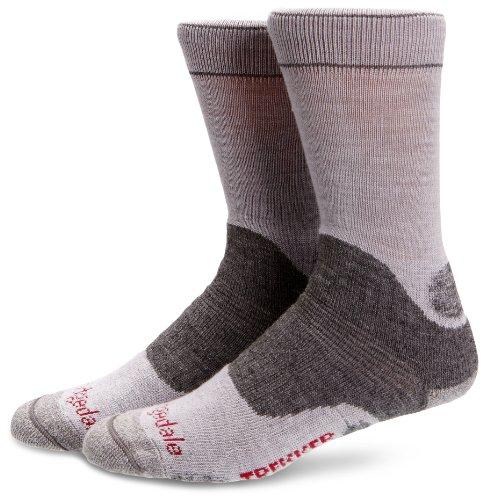Bridgedale Women's WoolFusion Trekker Socks, Silver/Grey, Medium