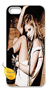 Iphone 5,5S custom case,Iphone 5,5S,Avril Lavigne case,singer & songwriter Cover Case for Iphone 5,5S.