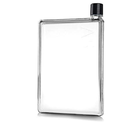 2a5b7a0d8a51 Amazon.com: XIDUOBAO A5-Shaped Reusable BPA-Free Bottles Flat ...