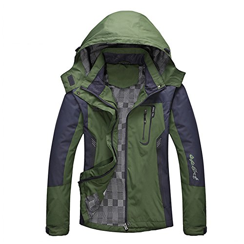 Diamond Candy Sportswear Women's Waterproof Jacket Outdoor raincoat Hooded Softshell 2GM