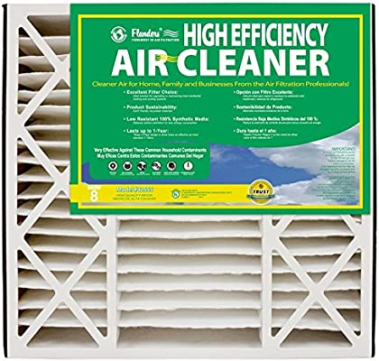 NaturalAire High Efficiency Air Filter, MERV 8, 16 x 20 x 5-Inch, 2-Pack - - Amazon.com