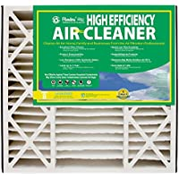 NaturalAire High Efficiency Air Filter, MERV 8, 19 x 20 x 4-Inch, 2-Pack