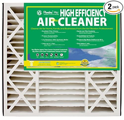 NaturalAire High Efficiency Air Filter, MERV 8, 20 x 25 x 6-Inch, 2-Pack - - Amazon.com