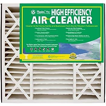 NaturalAire High Efficiency Air Filter, MERV 8, 19 x 20 x 4-Inch, 2-Pack