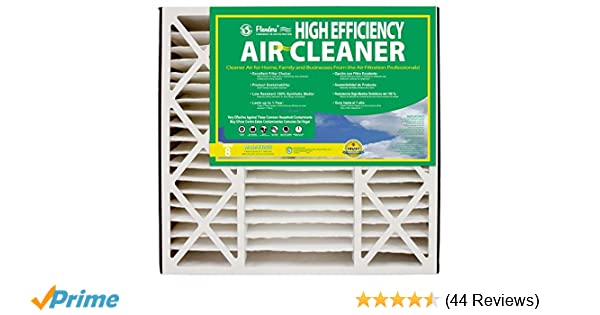 NaturalAire High Efficiency Air Filter, MERV 8, 20 x 25 x 5-Inch, 2-Pack - - Amazon.com