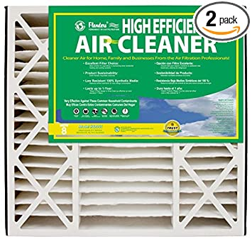 NaturalAire High Efficiency Air Filter, MERV 8, 16 x 25 x 5-Inch, 2-Pack - - Amazon.com