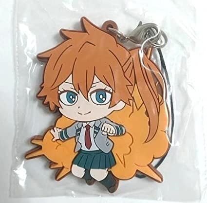 Amazon Com My Hero Academia Rubber Strap Itsuka Kendo 7cm Niitengomu Removable Charm Anime Toys Games Itsuka kendo is a character from the anime my hero academia. my hero academia rubber strap itsuka