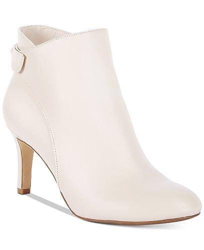 bdb205315 Amazon.com | Alfani Women's Step 'N Flex Fawwn Ankle Booties Ivory Size 8M  | Ankle & Bootie