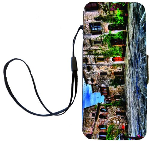 Rikki Knight Tuscany Village Scene Flip Wallet Case with ...