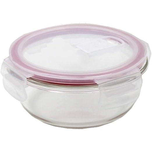 YUMUO - Juego de fiambreras de Cristal, Caja de Comida Bento ...
