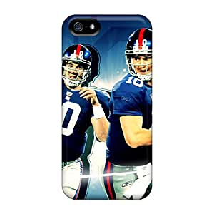 Protective Tpu Cases With Fashion Design For Iphone 5/5s (new York Giants)