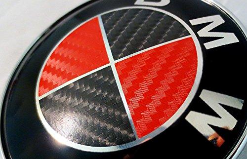 red and black bmw emblem - 2