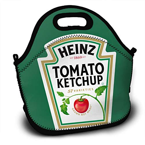 K1DUVXF Heinz Tomato Ketchup Bottle Logo Home Handbag For Young And Old Women One Size Black