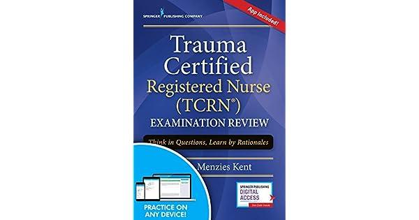 Amazon.com: Trauma Certified Registered Nurse (TCRN ...