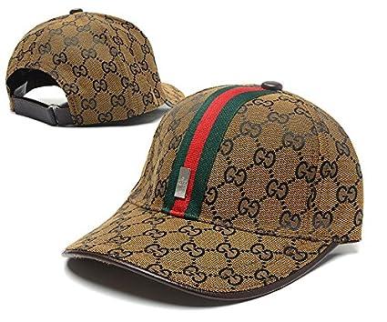 012311e7708af Amazon.com   Gucci Adjustable Snapback Caps of gucci caps for men£¬gucci cap  for women   Sports   Outdoors