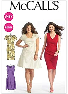 58d8ddd6f5783c New Look Ladies Easy Sewing Pattern 6298 Stretch Knit Jumper Dresses ...