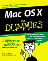 Mac OS X For Dummies, 2nd Edition Front Cover