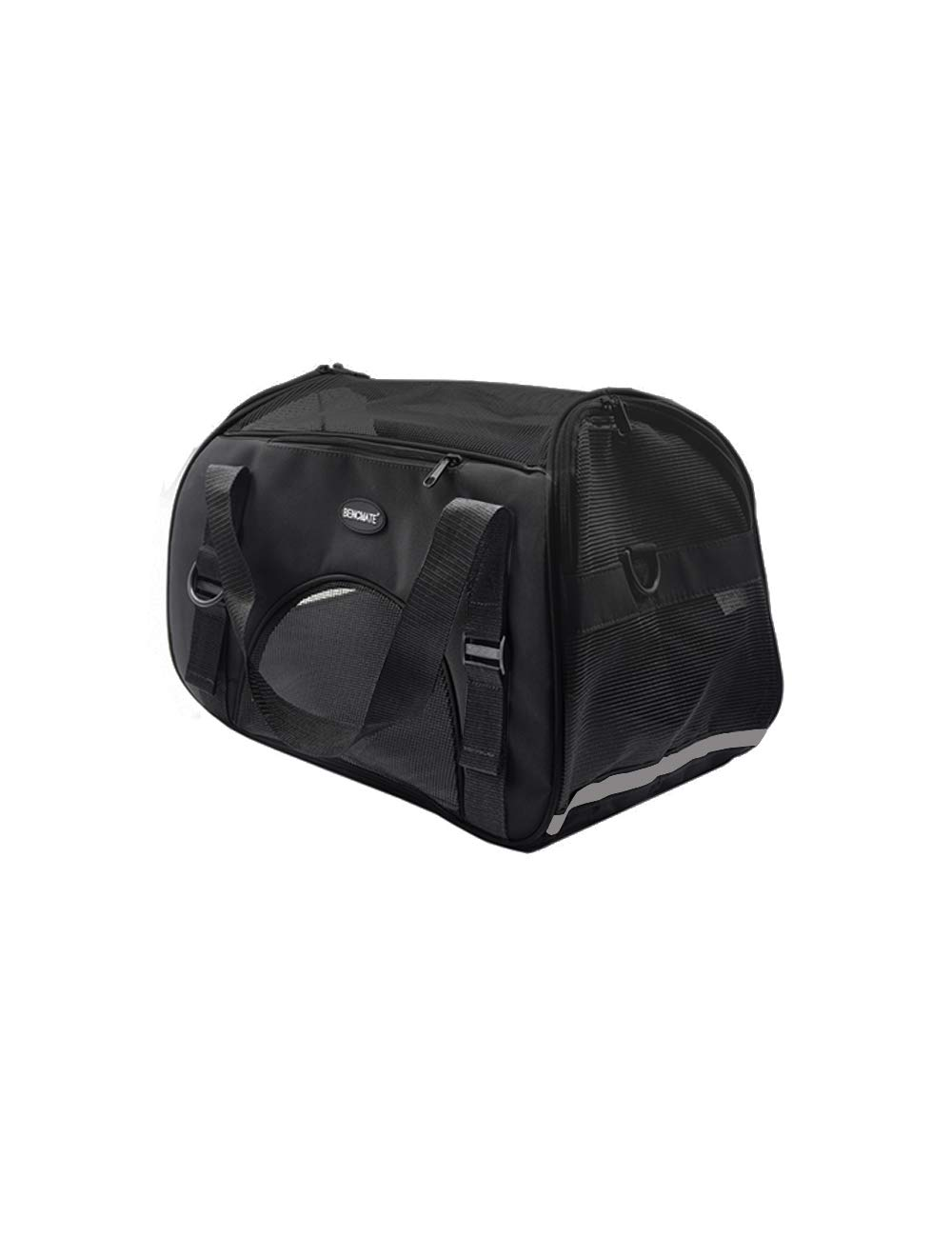 BENCMATE Soft Sided Pet Carrier ,Airline Approved Pet Travel Bags for Cats and Dogs Collapsible Under Seat(M) by BENCMATE