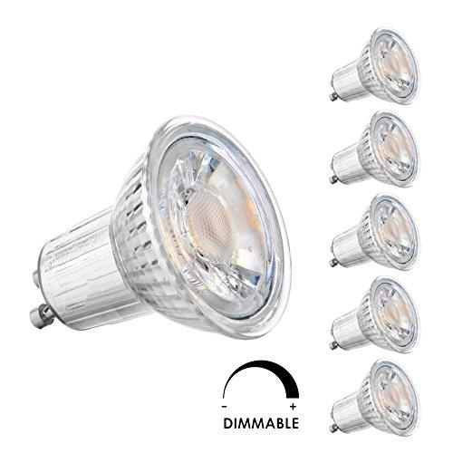 Gu10 6W Led Light Bulbs - 6