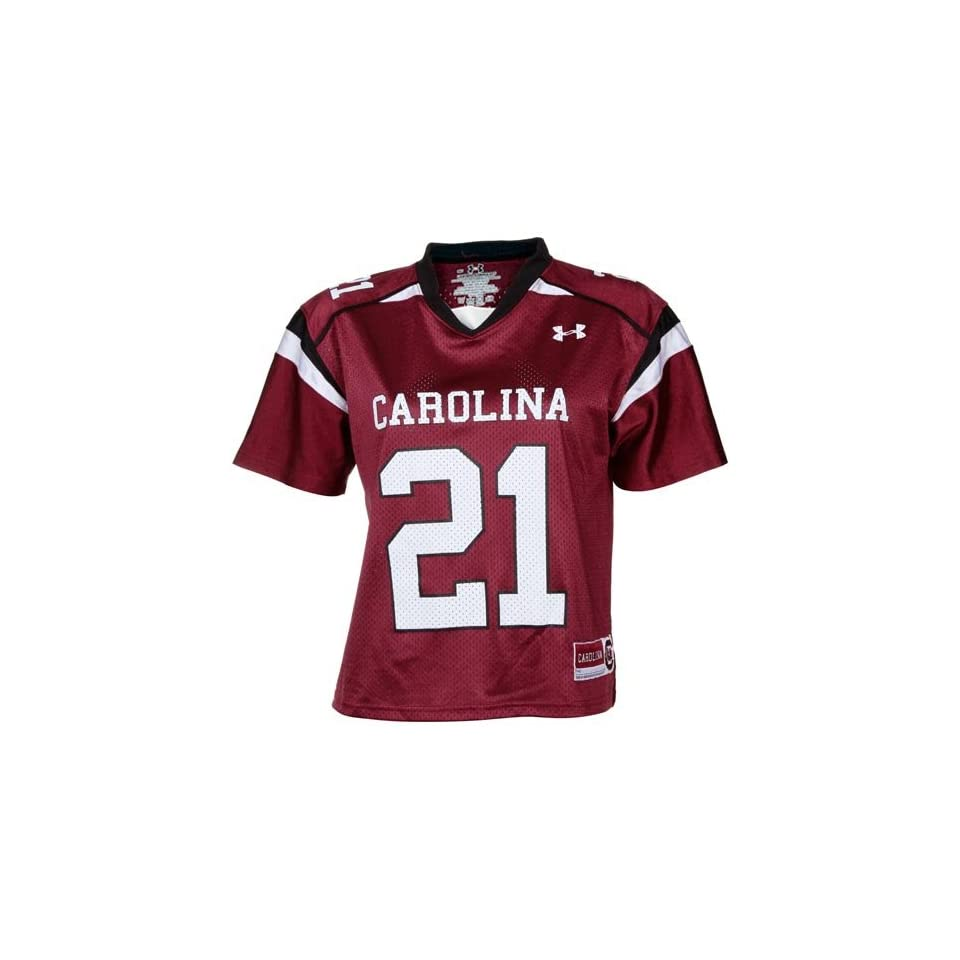 Under Armour South Carolina Gamecocks #21 Womens Replica Football Jersey Maroon