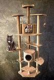 ZForce Cat Tree Tall Cat Condo, Beige