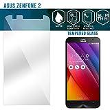 Zenfone 2 Screen Protector, GLAZZ 0.33mm Zenfone 2 Tempered Glass Screen Protector for Asus Zenfone 2 (Shatterproof, Oleophobic Coating, HD Clarity and Anti Scratch, Bubble Free)
