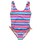 BeautyIn Little Girl's Cute Stars One Piece Swimsuit Swimwear