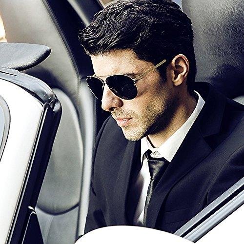 sol SSSX de con sol A polarizadas conducir hombre Gafas Gafas de sol A protección para de Aviador para UV Color Gafas Gafas de sol rrq5n7wS