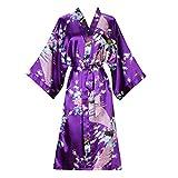 ellenwell Women%27s Kimono Robe Peacock