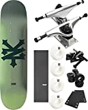 Zoo York Skateboards Big Cracker Skateboard 8'' x 31.9'' Complete Skateboard - Bundle of 7 items