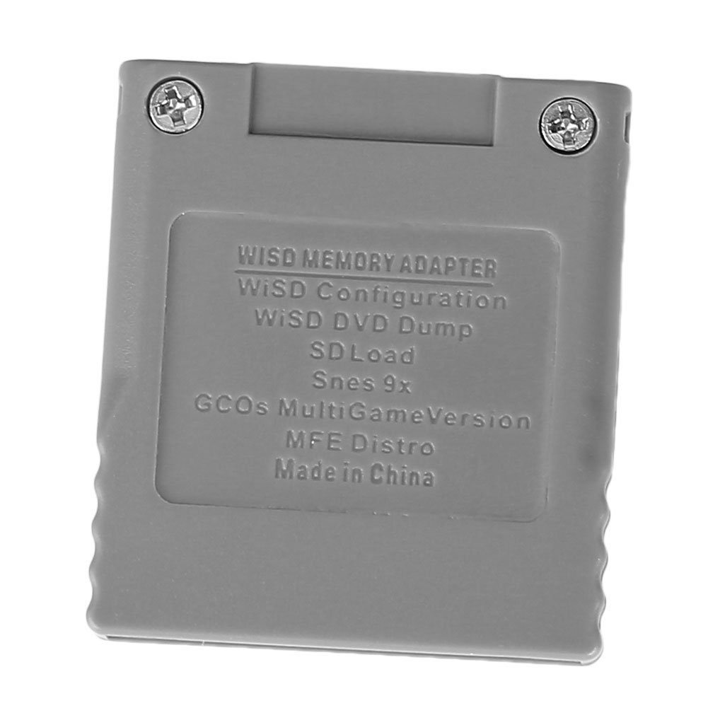 Adaptador de tarjeta SD, lector de tarjetas Wiisd adaptador ...