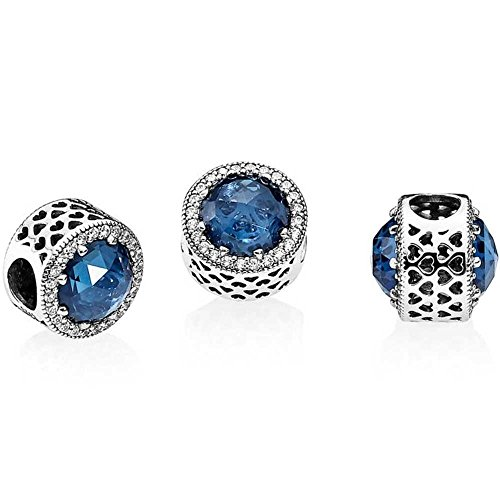 Pandora Women Silver Bead Charm - 791725NMB iccbH
