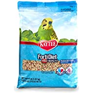 Kaytee Forti-Diet Pro Health Bird Food for Parakeets, 4 lb