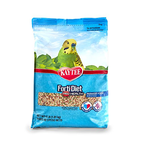 (Kaytee Forti-Diet Pro Health Parakeet Food 4lb )