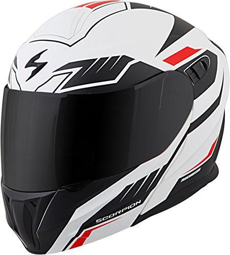 Scorpion Helmet Modular (Scorpion EXO-GT920 Modular Shuttle Street Bike Motorcycle Helmet - White/Black/X-Large)